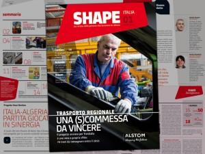 Il primo numero di Shape
