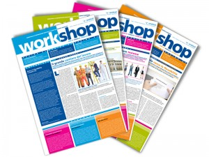 La versione cartacea di workshop, la newsletter di Randstad