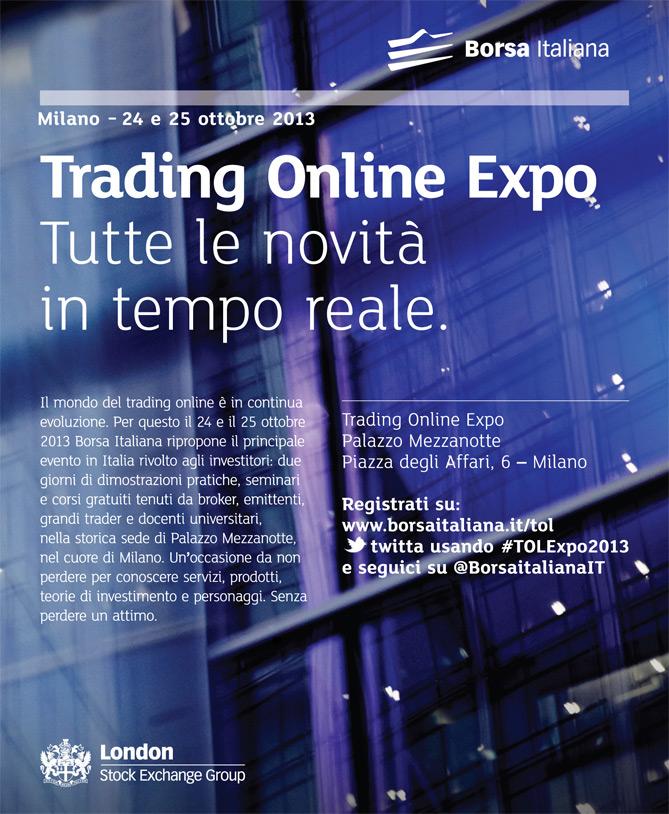 Borsa italiana a the van la campagna per il trading for Borsa giapponese tempo reale