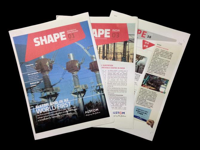 Shape: il Magazine Aziendale di Alstom declinato in tutti i paesi
