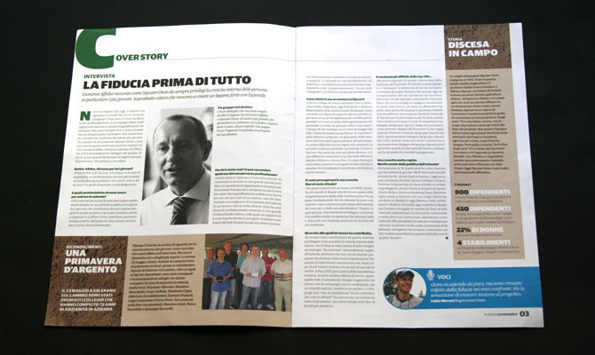 The Van realizza One e si rafforza nel corporate publishing