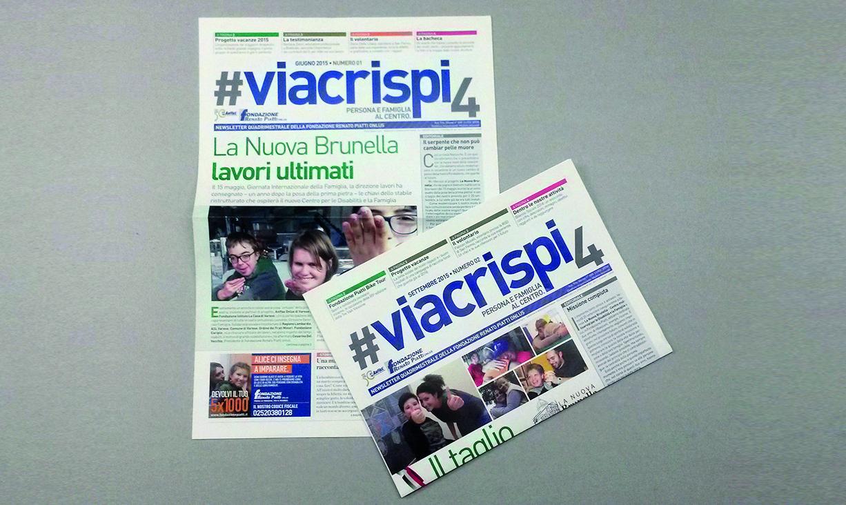 #viacrispi4, il nuovo magazine di Fondazione Renato Piatti