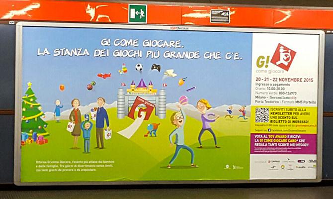 La campagna stampa di G! come Giocare 2015