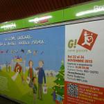 The Van per G! come Giocare - affissione metro banchina