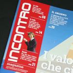 """Ecco il restyling di """"Incontro Magazine"""" la rivista per la comunicazione interna di Compass"""