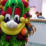 Anche Foody, la mascotte di Expo, è a G! come Giocare
