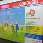 Affissione metropolitana G! come Giocare