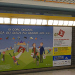 Affissione G! come Giocare metro M3