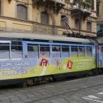 Decorazione Tram Atm Milano